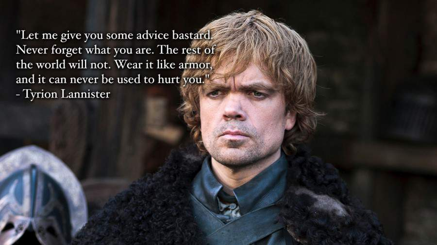 Tyrion can teach